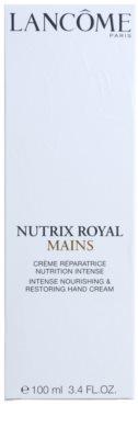 Lancome Nutrix Royal crema hidratante y regeneradora  para manos 3