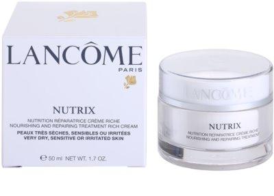 Lancome Nutrix krem regenerujący i nawilżający do skóry suchej 3