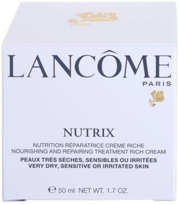 Lancome Nutrix krem regenerujący i nawilżający do skóry suchej 4