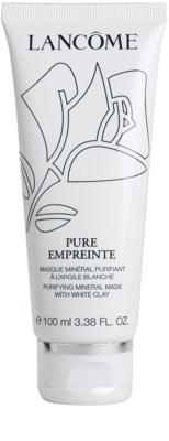 Lancome Pure Empreinte Masque čistilna maska za mešano in mastno kožo