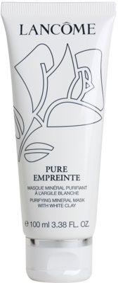 Lancome Pure Empreinte Masque mascarilla limpiadora para pieles mixtas y grasas