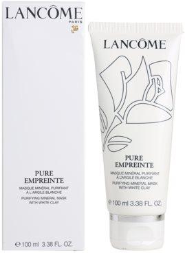 Lancome Pure Empreinte Masque mascarilla limpiadora para pieles mixtas y grasas 2