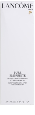 Lancome Pure Empreinte Masque mascarilla limpiadora para pieles mixtas y grasas 3