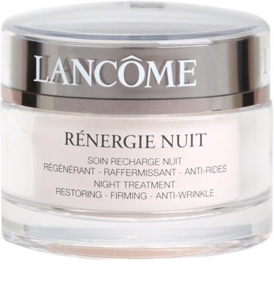 Lancome Rénergie crema de noche reafirmante y antiarrugas  para todo tipo de pieles