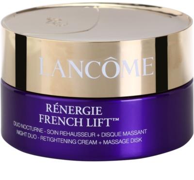 Lancome Rénergie French Lift creme de noite com disco de massagem