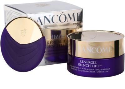 Lancome Rénergie French Lift crema de noapte cu disc pentru masaj 2