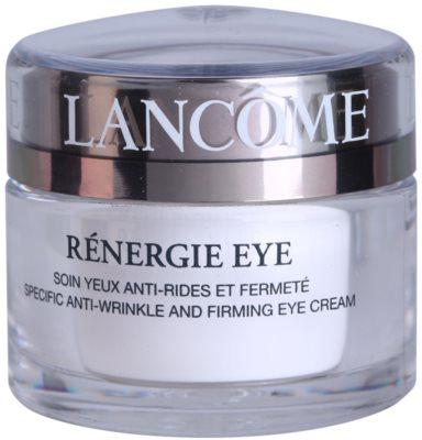 Lancome Rénergie Eye crema reafirmante contra las arrugas del contorno de ojos