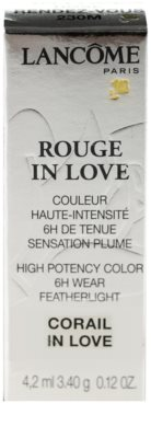Lancome Rouge in Love Lippenstift 2