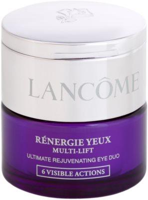 Lancome Renergie Multi-Lift oční protivráskový a vyživující krém s korektorem