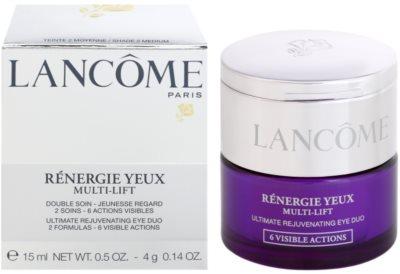 Lancome Renergie Multi-Lift nährende Anti-Falten Augencreme mit Korrektor 2