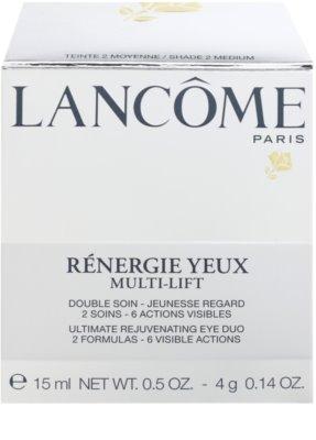 Lancome Renergie Multi-Lift nährende Anti-Falten Augencreme mit Korrektor 3