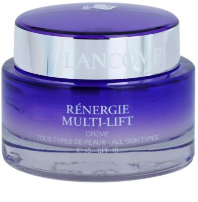 Lancome Renergie Multi-Lift crema rejuvenecedora con efecto lifting de día SPF 15