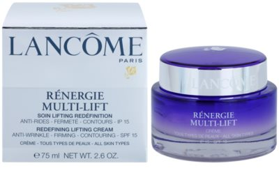 Lancome Renergie Multi-Lift liftinges bőrkisimító nappali krém SPF 15 2