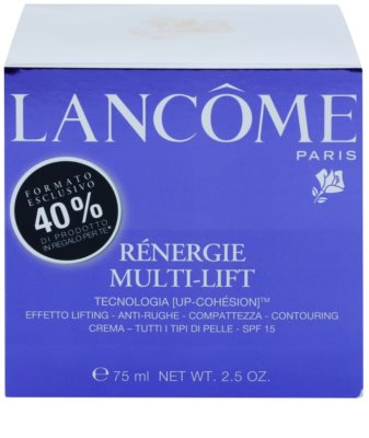 Lancome Renergie Multi-Lift liftinges bőrkisimító nappali krém SPF 15 3