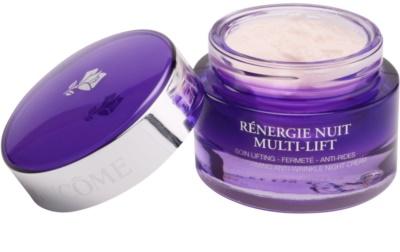 Lancome Renergie Multi-Lift noční zpevňující a protivráskový krém na obličej a krk 1