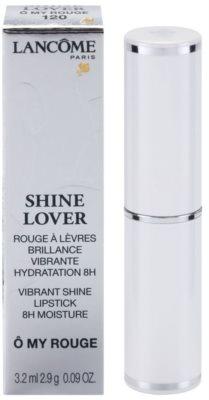 Lancome Shine Lover szminka nawilżająca z wysokim połyskiem 3