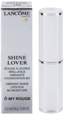 Lancome Shine Lover hidratáló rúzs magasfényű 3