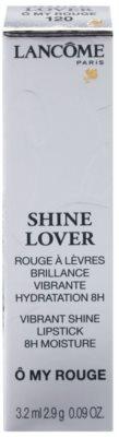 Lancome Shine Lover szminka nawilżająca z wysokim połyskiem 4