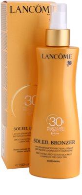 Lancome Soleil Bronzer loțiune pentru plaja  SPF 30 2