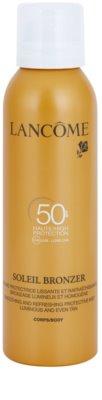 Lancome Soleil Bronzer молочко для засмаги у формі спрею SPF 50