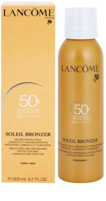 Lancome Soleil Bronzer losjon za sončenje v pršilu SPF 50 2