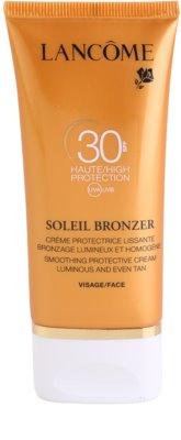 Lancome Soleil Bronzer opalovací krém na obličej SPF 30