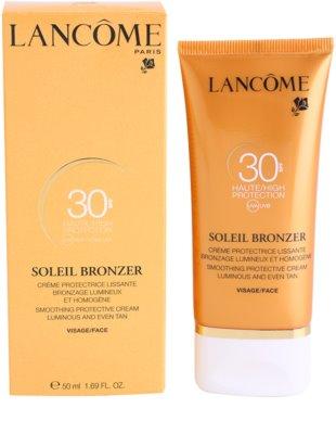 Lancome Soleil Bronzer crema de soare pentru fata SPF 30 2