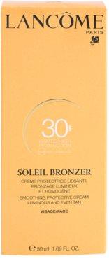 Lancome Soleil Bronzer crema de soare pentru fata SPF 30 3