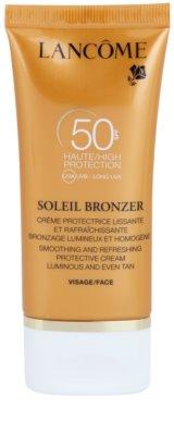 Lancome Soleil Bronzer Sonnencreme gegen Hautalterung SPF 50