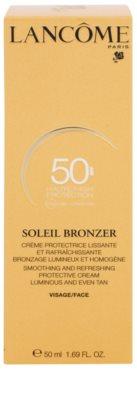 Lancome Soleil Bronzer Sonnencreme gegen Hautalterung SPF 50 2