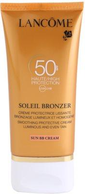 Lancome Soleil Bronzer opalovací krém na obličej SPF 50