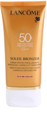 Lancome Soleil Bronzer Sonnencreme fürs Gesicht SPF 50