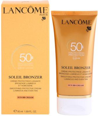 Lancome Soleil Bronzer creme solar facial SPF 50 2