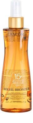 Lancome Soleil Bronzer захисна олійка SPF 15