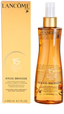 Lancome Soleil Bronzer aceite protector SPF 15 2