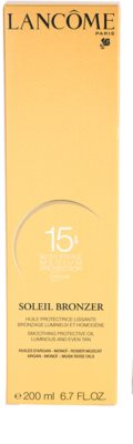 Lancome Soleil Bronzer aceite protector SPF 15 3