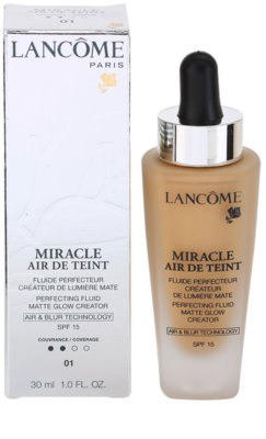 Lancome Miracle Air De Teint make-up ultra light pentru un look natural 1