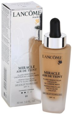 Lancome Miracle Air De Teint make-up ultra light pentru un look natural 2