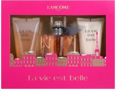 Lancome La Vie Est Belle coffret presente