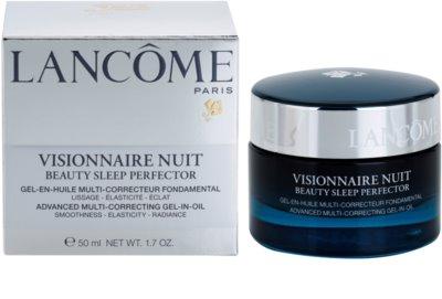 Lancome Visionnaire Nuit Gel-Nachtcreme zur Feuchtigkeitsversorgung und Glättung der Haut 2
