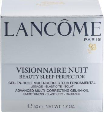 Lancome Visionnaire Nuit Gel-Nachtcreme zur Feuchtigkeitsversorgung und Glättung der Haut 3