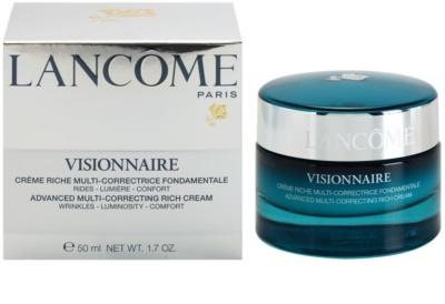 Lancome Visionnaire intensive feuchtigkeitsspendende Creme gegen Falten für trockene Haut 2