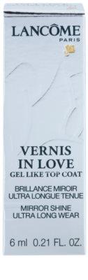 Lancome Vernis in Love топ защитен лак за нокти с гланц 2