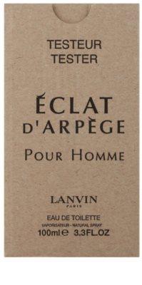 Lanvin Eclat D'Arpege pour Homme eau de toilette teszter férfiaknak 2