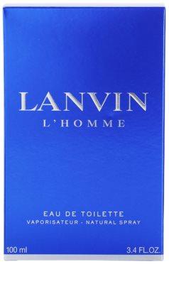 Lanvin L'Homme Eau de Toilette für Herren 4