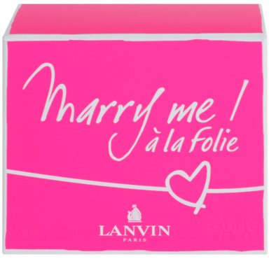 Lanvin Marry Me! á la Folie Eau de Parfum für Damen 4