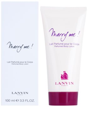Lanvin Marry Me! leite corporal para mulheres