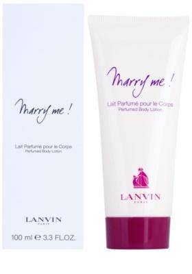 Lanvin Marry Me! tělové mléko pro ženy