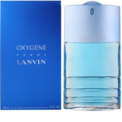 Lanvin Oxygene Homme eau de toilette férfiaknak