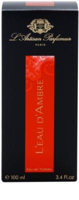 L'Artisan Parfumeur L'Eau d'Ambre Eau de Toilette für Damen 4